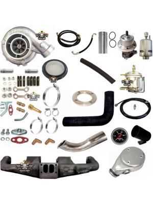 Kit Turbo Opala 6cc Pulsativo Com Turbo .50 Carburado