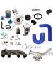 Kit Turbo Ap MI com Mangueira de Silicone para Ar e Direção Hidráulica