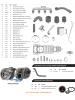 Kit Turbo F1000 F4000 Até 92 Motor MWM D229-4 225-4 226-4