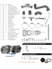 Kit Turbo D10 D20 Veraneio Bonanza Perkins 4236