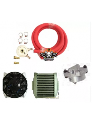 Radiador Oleo C/ Ventoinha Kit Completo VW fusca