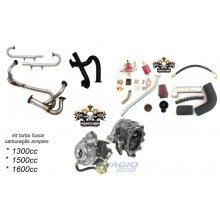 Kit turbo Fusca 1 carburador ou injecao kombi