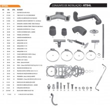 KIT TURBO GM  SILVERADO MAXIOM  SEM AR CONDICIONADO