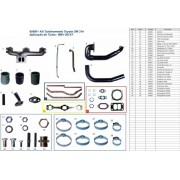 Kit turbo TOYOTA 608 / 708  OM 314