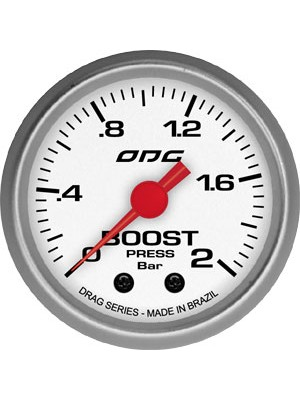 Manômetro Turbo Boost Drag Odg