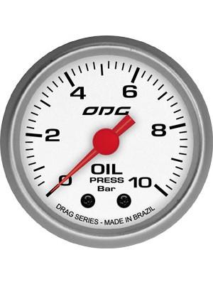 Manômetro Oil Drag Odg  10bar 52 mm
