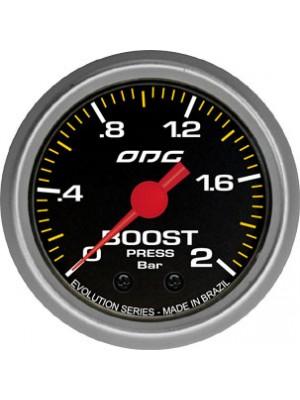 Manômetro Turbo Boost Evolution Odg