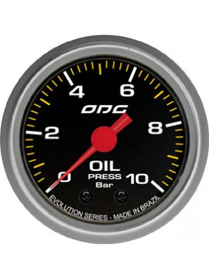 Manômetro Oil Evolution 10bar 52 mm