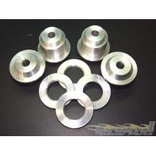 Bucha do Quadro Gol Quadrado aluminio