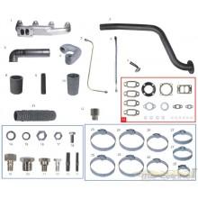 Kit turbo F1000/F4000 ATÉ 92 motor MWM D229-4/ 225-4/ 226-4