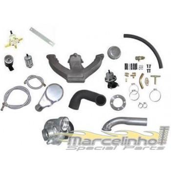 Kit turbo escort Motor Ford CHT 1.6 c/ turbo T3