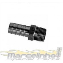 Niple 3/8'' npt x espigão de 3/8'' (10,0mm)