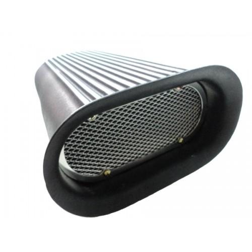 Scoop Modelo HILBORN Preto com Filtro para Quadrijet