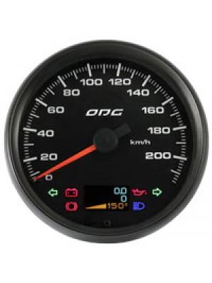 Velocímetro Dakar Full Color 220Km/h 100 mm Hod. Duplo e indicadores