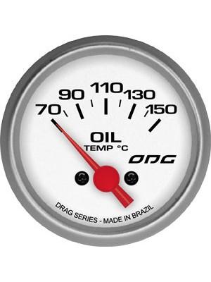 Manômetro temperatura oleo DRAG