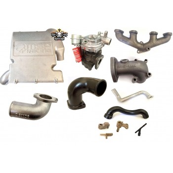 Kit Turbo MSP Racing Linha Fiat  1.0 / 1.4 Fire Flex