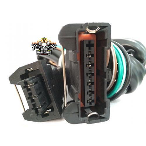 Chicote Ignição Eletronico Distribuidor HALL Vw  7 Pinos