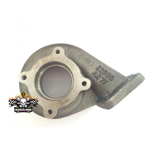 Carcaça/ Caracol Quente .63 / .71  para Turbina com Eixo Apl ( 49,5mm )