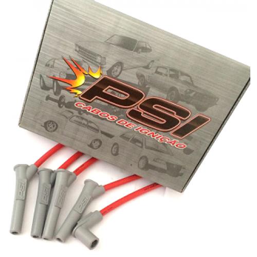 Cabos de Ignição PSI Silicone 10mm Linha GM