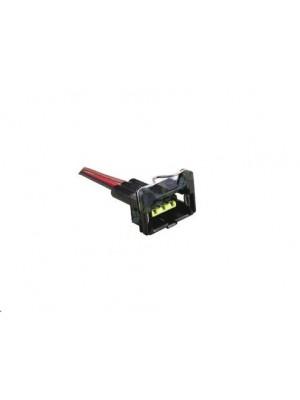 conector sensor rotação 3 vias para bobina modelo MI 3 pinos