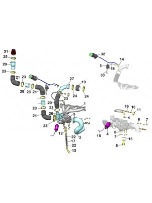Kit Turbo para Palio Strada 1.6 16valvulas